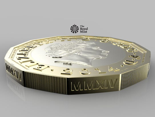 AP Britain New Pound Coin_001