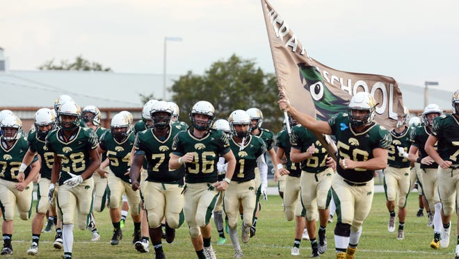 The Viera Hawks hosted Melbourne High on Friday night,