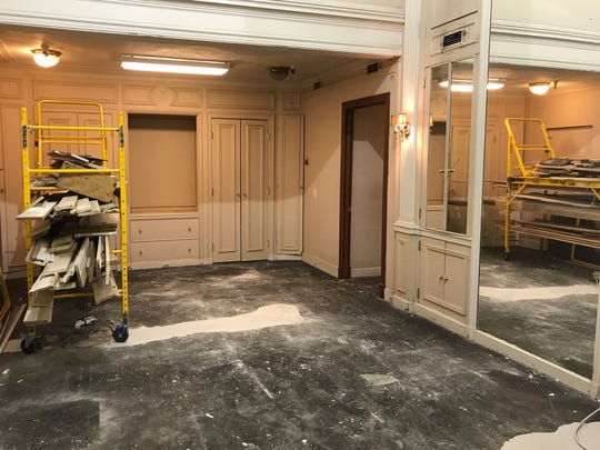 By October, this space will be a clothing store.