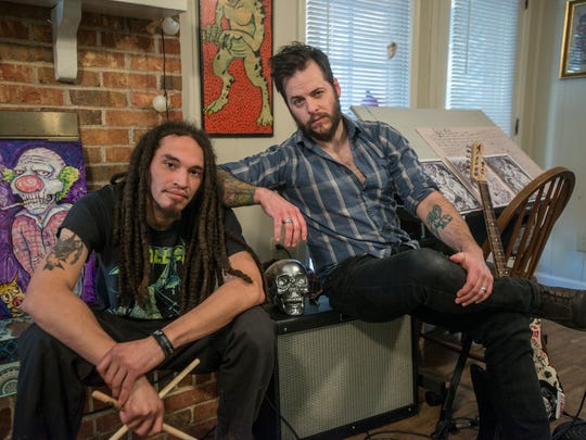 Justin Turberville, right, and Deon Lee Gable are part of a new Montgomery duo group known as The Lookdowns.