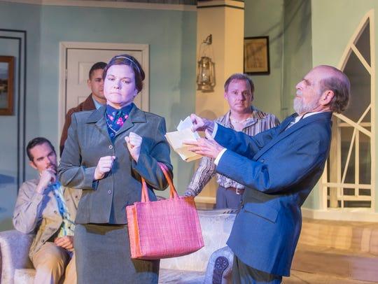 Cloverdale Playhouse rehearses for Agatha Christie's
