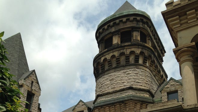 The Ohio State Reformatory in Mansfield.