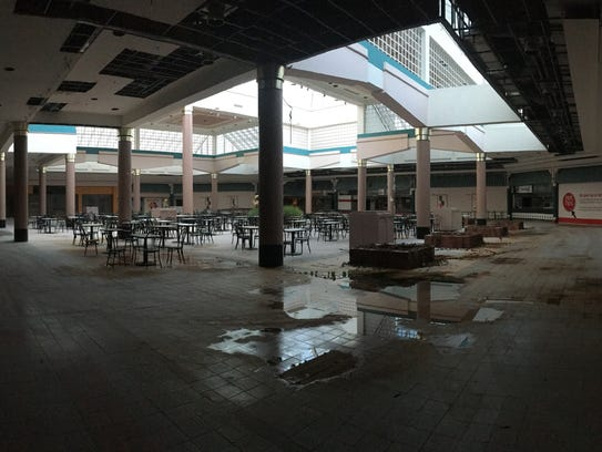 A developer envisions using the food court space of