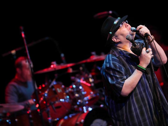 John Popper and Blues Traveler perform at The Grand in Wilmington in 2012. The band returns to Delaware to play the Delaware State Fair's Craft Beer Festival on July 30 with Rehoboth Beach's Lower Case Blues.