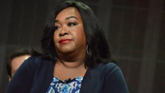 Shonda Rhimes is challenging herself on screen and off. She faced her fears and appeared on 'The Mindy Project' while overseeing three series on ABC.