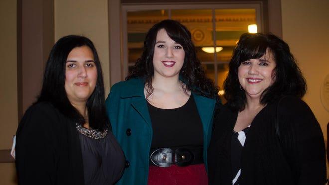 Christina Gaddis, Erica Camargo, & Maria Camargo at Sister Act