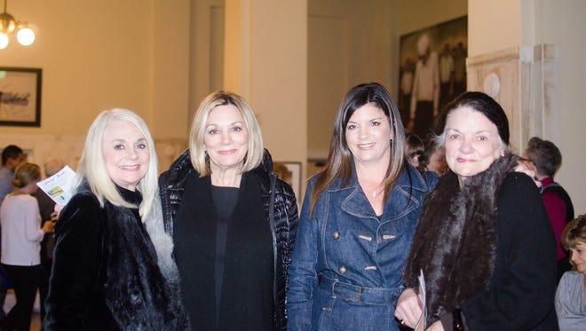 Anne Freschette, Peggy Woolverton, Addie Taylor, & Tisch Childs at Ballet of Pensacola