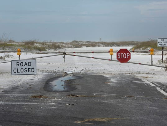 Beach Recovery-Hurricane Nate