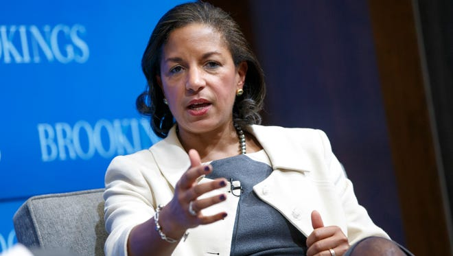 "National Security Adviser Susan Rice speaks at the Brookings Institution to outline President Obama's foreign policy priorities Friday.Obama says the US must resist the urge to ""overreach"" abroad, as he outlined a new national security strategy Friday that is meant to serve as a blueprint for his final two years in office. The document hews closely to Obama's long-held views of America's role in the world and forecasts no major shifts in the military campaign against Islamic State militants or in the conflict between Russia and Ukraine. Beyond those immediate concerns, he also calls for an increased focus on boosting cybersecurity, combating climate change and promoting gay rights around the world."