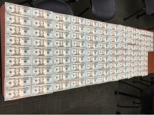 Moorpark counterfeit money