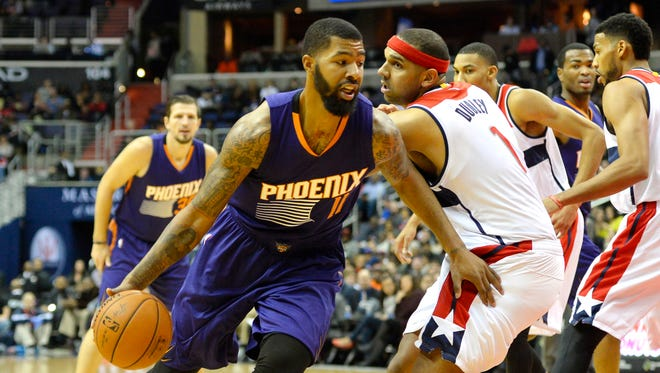 The Suns traded Markieff Morris to the Wizards on Thursday.