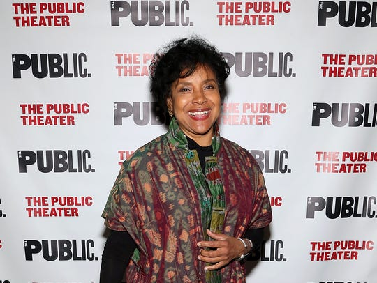 Phylicia Rashad in NYC in October.