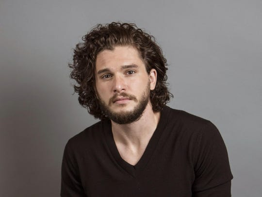 """""""Testament of Youth"""" actor Kit Harington poses for"""