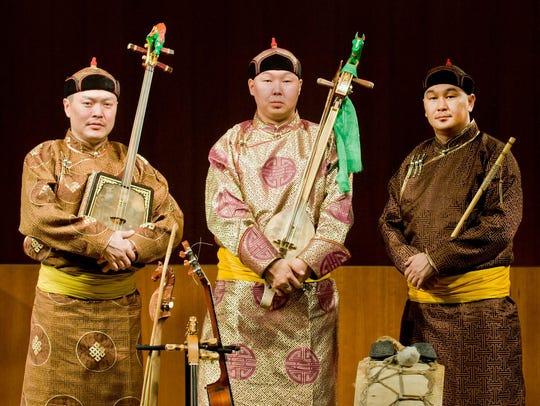 The Alash Ensemble will return to Ithaca on Saturday