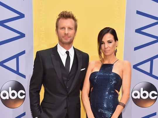 Singer-songwriter Dierks Bentley and Cassidy Black