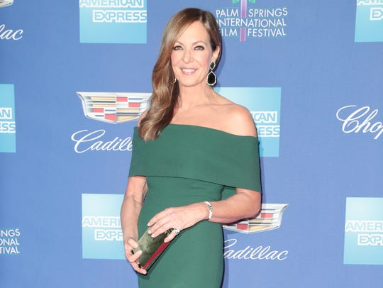 Allison Janney arrives at the Palm Springs International