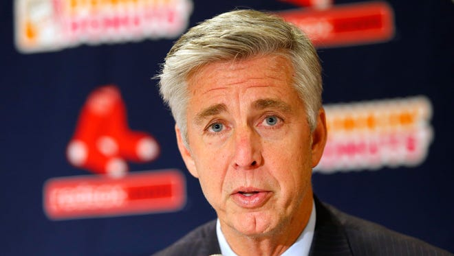 Boston Red Sox President of Baseball Operations Dave Dombrowski.