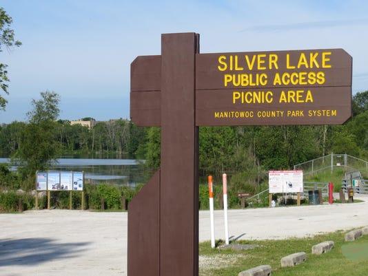 Silver Lake Sign