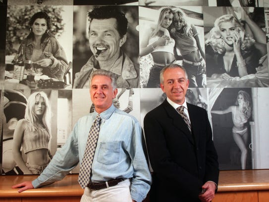 Maurice (l) and Paul (r) Marciano, CEO and COO of Guess