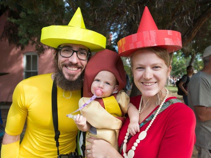 Tour de Fat parade participants show off their costumes