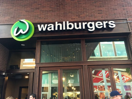 Wahlburgers had a red carpet opening in Greektown on August 10, 2016.