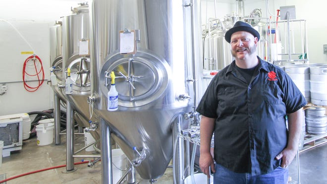 Matthew Killikelly is a partner in Santiam Brewing Company and primarily handles sales and marketing.