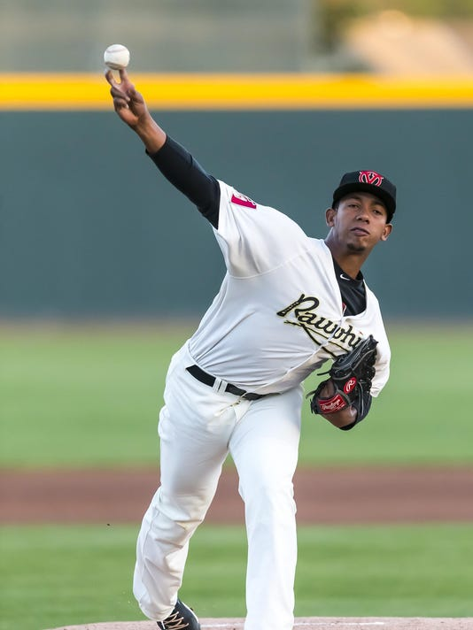Visalia Rawhide game against the Inland Empire 66ers