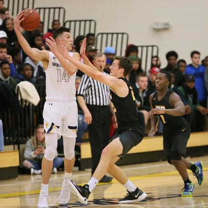 Whitnall's Tyler Herro looks for a way to pass around
