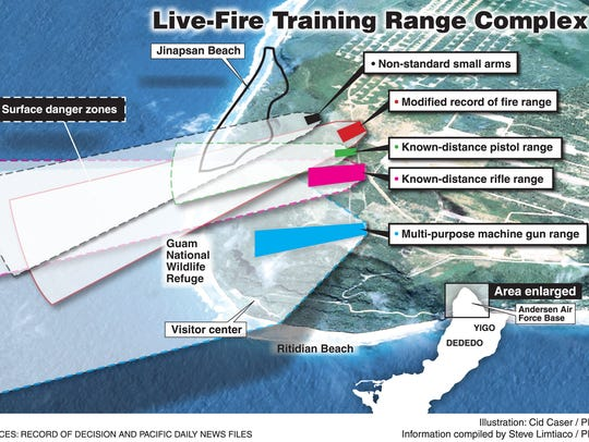 The planned live-fire training range complex will have