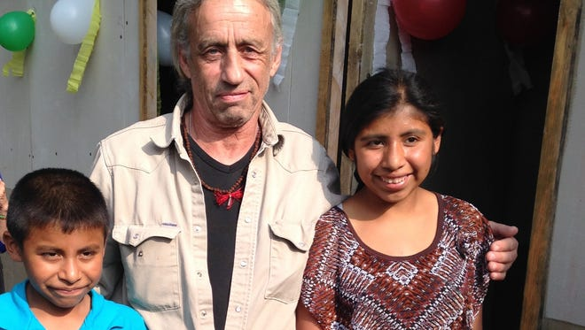 Local farmer Tony Potenza spent 10 days in Guatemala, including a visit with a family.