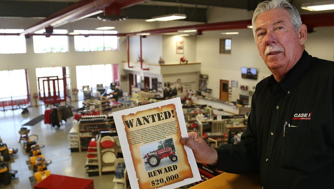 Randy Hinton, 62, fumed at the loss of his prized Farmall 1206 tractor. Happily, the sheriff in Rice County, Minn., has recovered the tractor.
