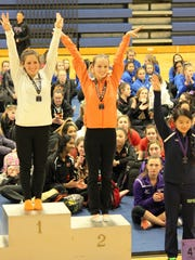 Northville sophomore Erin McCallum was second in the