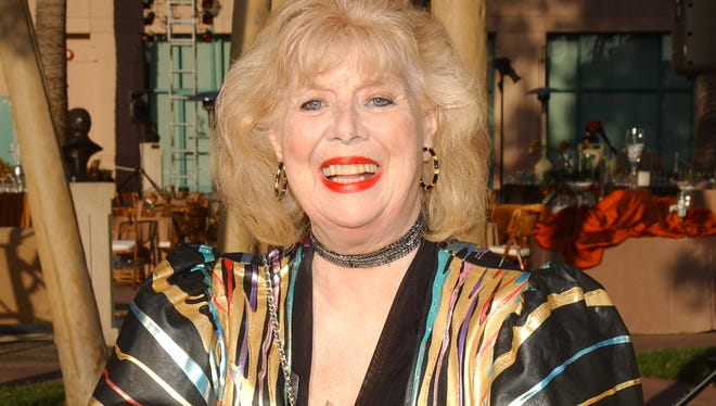 "Actress Sheila MacRae of ""The Honeymooners"" at The Academy of Television Arts & Sciences 2004 Hall of Fame Induction Ceremony."