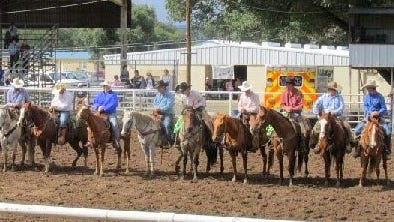 Riders from six local ranches competed in the benefit rodeo.