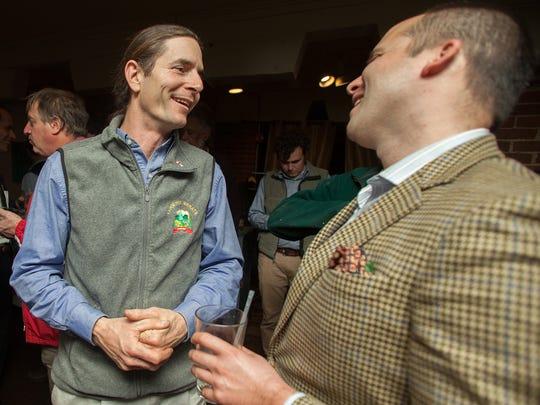 Vermont Sen. David Zuckerman, left, plans to introduce