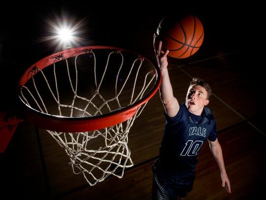 Yale High School senior Cody Kegley is the Times Herald