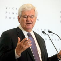 Newt Gingrich tells Collier audience 'secular, atheist philosophy' is threat to Christianity