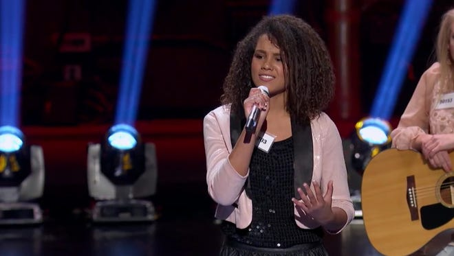 """Tristan McIntosh performs Carrie Underwood's """"Something in the Water"""" on """"American Idol"""""""