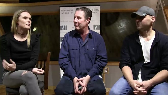"""Nicolle Galyon, Bart Herbison and Jon Nite discuss the song """"Boy."""""""