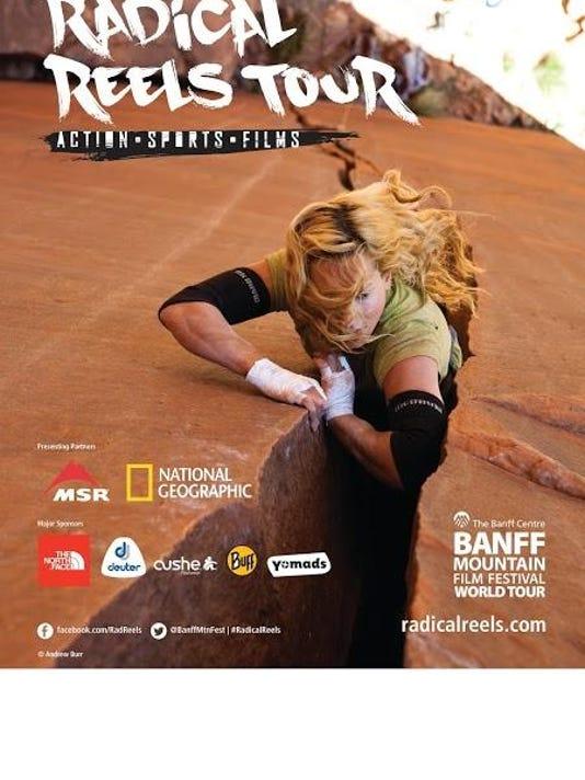 Radical Reels Tour Poster-climber