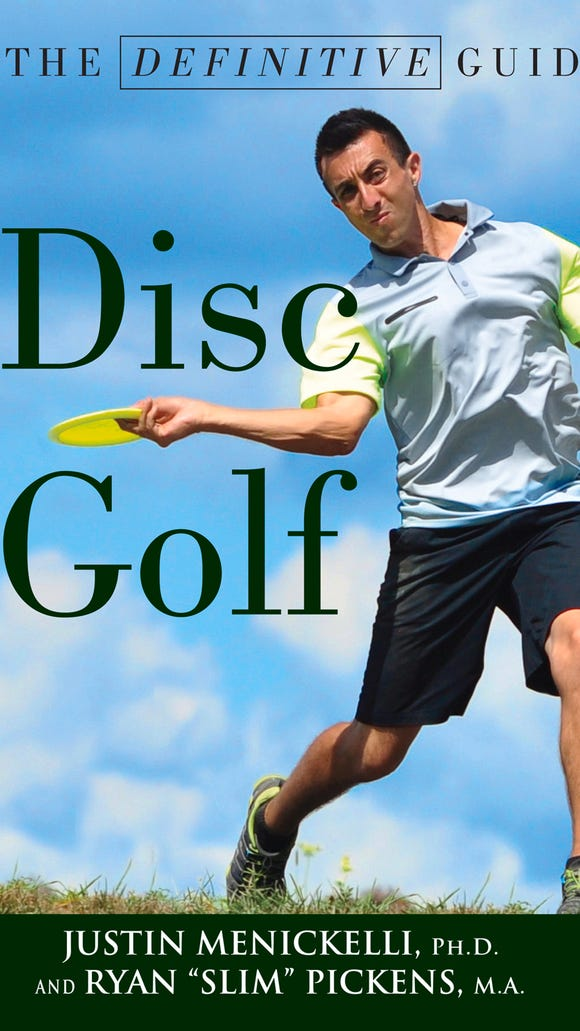 """The Definitive Guide to Disc Golf"" has been published by two WNC disc golfers."
