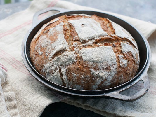 Food American Table Dutch Oven Bread