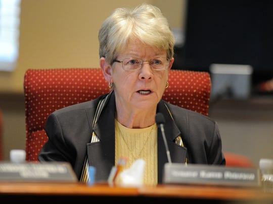 Former Delaware state senator, Karen Peterson.