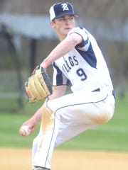 Rutherford senior pitcher John Kelly fired a gem against Hawthorne on April 24 in the Colonial Division battle at Memorial Field.