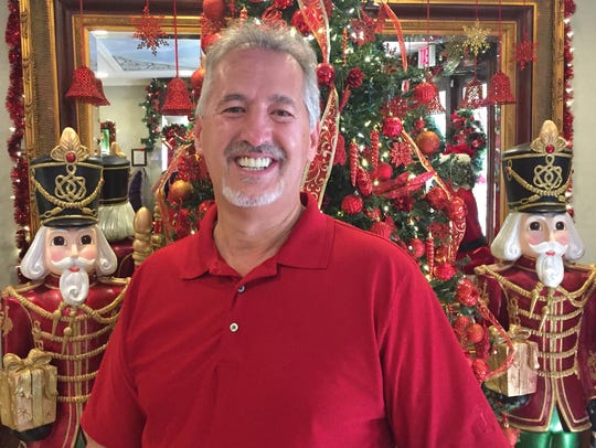Dr. Dan Holt has created a Christmas display extravaganza