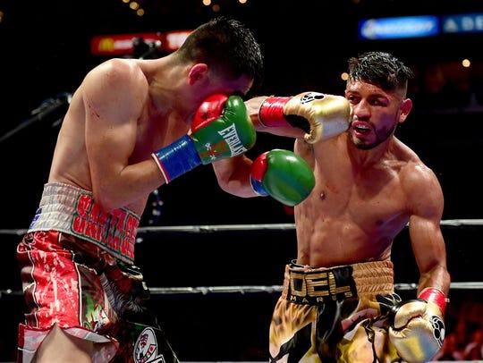 Leo Santacruz derrotó en una encarnizada lucha a Abner