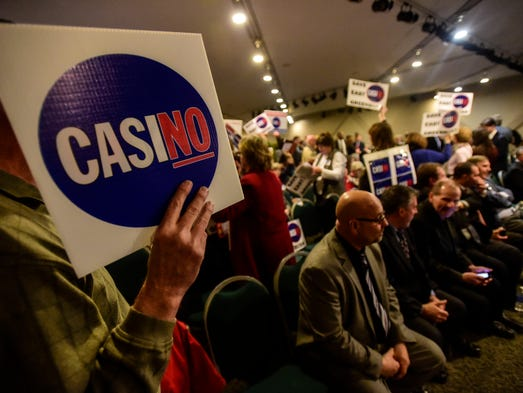 The five-member casino-siting board recommended no