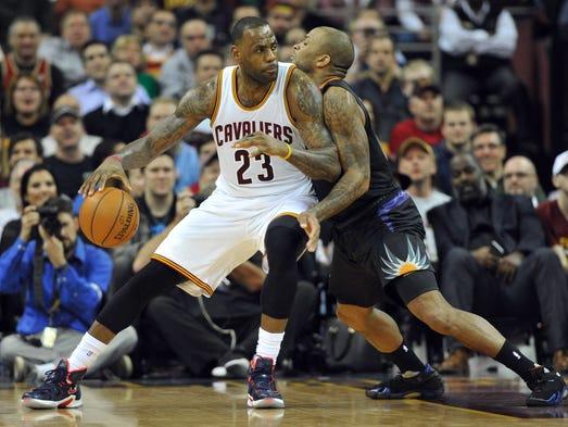 Jan 27, 2016: Cleveland Cavaliers forward LeBron James