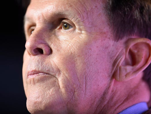 Dave Hart, vice chancellor and director of athletics