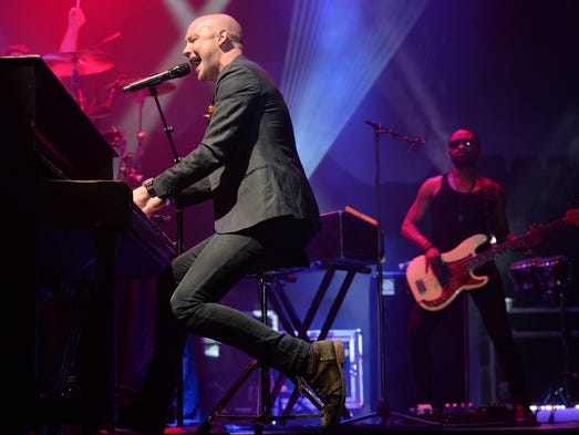 The Fray plays the Mountain stage at NewWestFest on